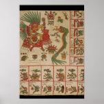 Aztec Codex Borbonicus Poster
