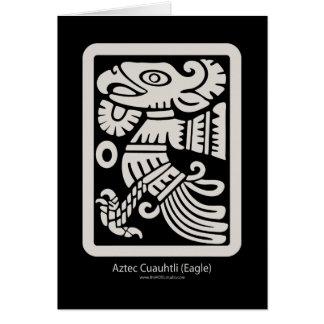 Aztec Cuauhtli - Eagle (Putty) Card