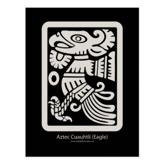Aztec Cuauhtli - Eagle (Putty) Postcard