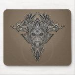 Aztec Dragons Mask (grey)
