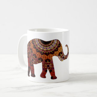 Aztec Elephant Coffee Mug