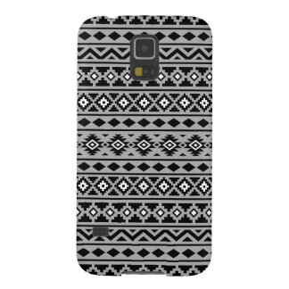 Aztec Essence II Black White Grey Case For Galaxy S5