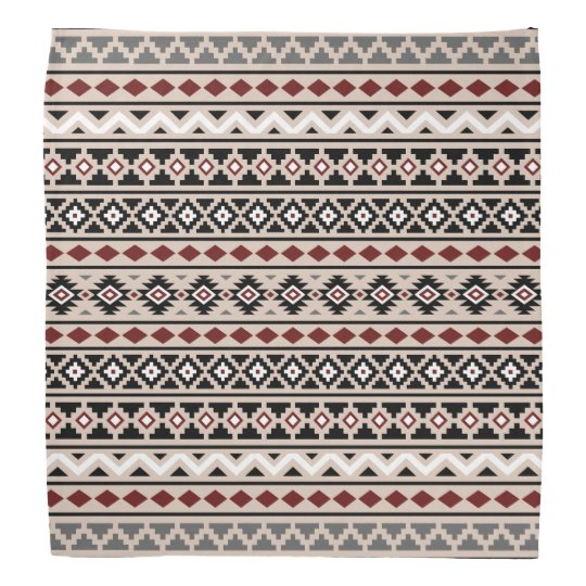 Aztec Essence II Ptn Black White Grey Red