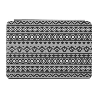 Aztec Essence Pattern II Black White Grey iPad Mini Cover