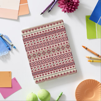 Aztec Essence Ptn IIb Red Grays Cream Sand iPad Cover