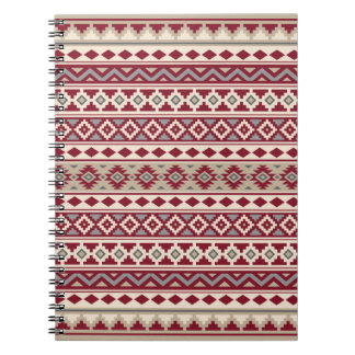 Aztec Essence Ptn IIb Red Grays Cream Sand Notebook