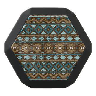 Aztec Essence Ptn III Teals Gold Cream Brown Black Bluetooth Speaker