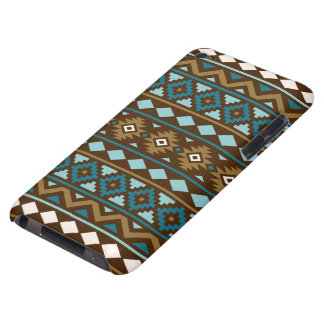 Aztec Essence Ptn III Teals Gold Cream Brown iPod Touch Covers