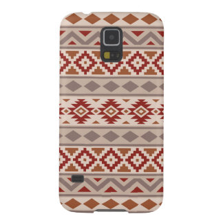 Aztec Essence Ptn IIIb Taupes Creams Terracottas Galaxy S5 Cover