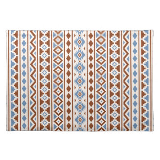 Aztec Essence Vertical Ptn II Rust Blue Cream Placemat
