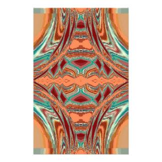 Aztec Fabric. Tribal Pattern Flyers