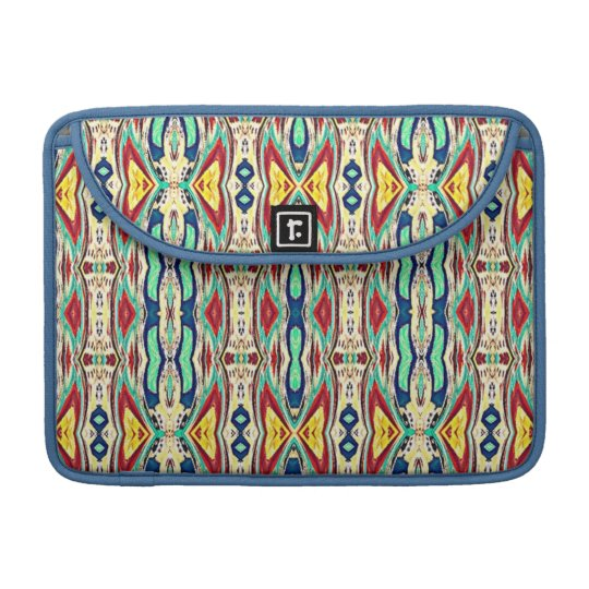 Aztec Fabric. Tribal Pattern. Native American MacBook Pro Sleeves