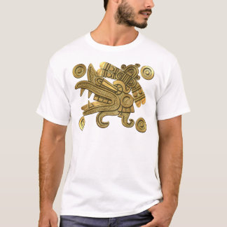 Aztec Gold Ehecatl T-Shirt