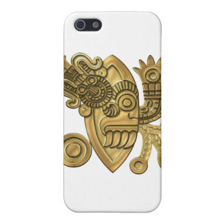 Aztec Gold Knife Blade iPhone 5 Cover