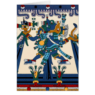 Aztec Greetings Card