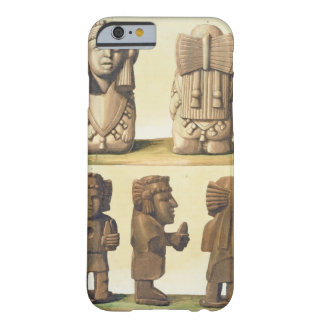 Aztec Idols, Mexico (colour lithograph) Barely There iPhone 6 Case