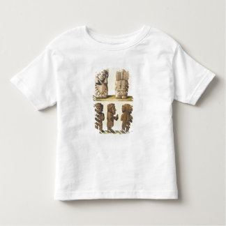 Aztec Idols, Mexico (colour lithograph) Toddler T-Shirt