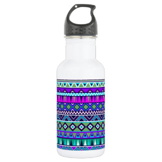 Aztec inspired pattern 532 ml water bottle