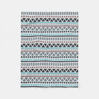 Aztec Inspired Pattern Fleece Blanket
