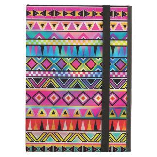 Aztec inspired pattern iPad folio case