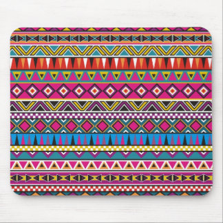 Aztec inspired pattern mouse mat