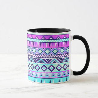 Aztec inspired pattern mug