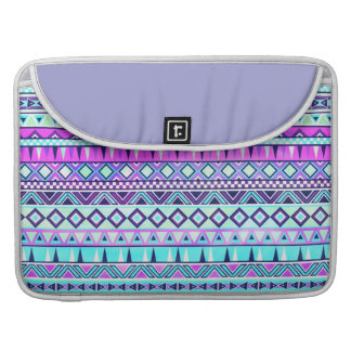 Aztec inspired pattern sleeve for MacBooks