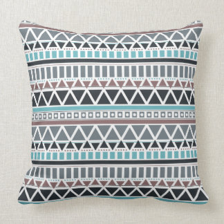 Aztec Inspired Pattern Throw Pillow