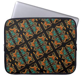 Aztec Mandala Laptop Sleeve