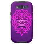 Aztec Mask Design – purple