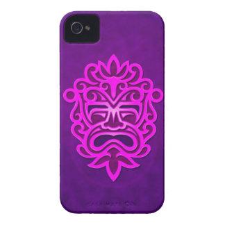 Aztec Mask Design – purple Blackberry Case