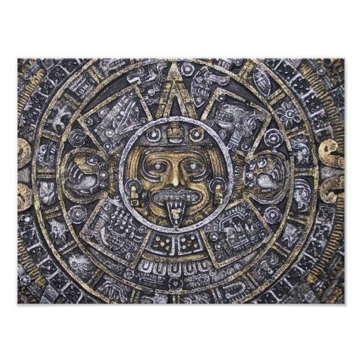 Aztec / Mayan Calendar Poster Posters