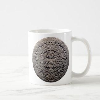 Aztec MAYAN CALENDAR Stone - December 21, 2012 Basic White Mug
