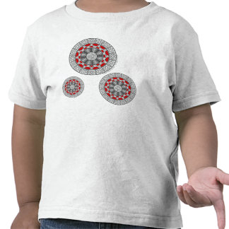 Aztec Meets Alien Kid's and Baby Light Shirt