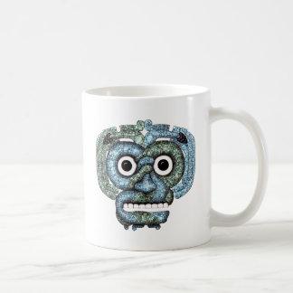 Aztec Mosaic Tlaloc Mask Mugs