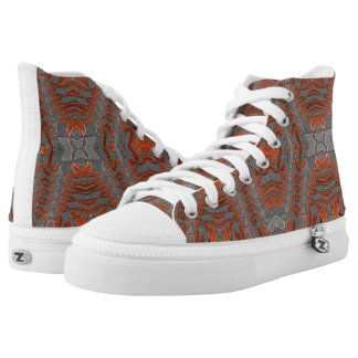 Aztec Mountain Printed Shoes