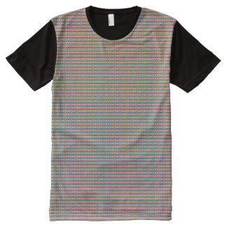 Aztec pattern All-Over print T-Shirt