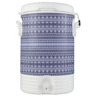 Aztec Pattern beverage coolers Drinks Cooler