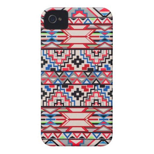 Aztec Pattern Blackberry Bold Case Case-Mate iPhone 4 Cases