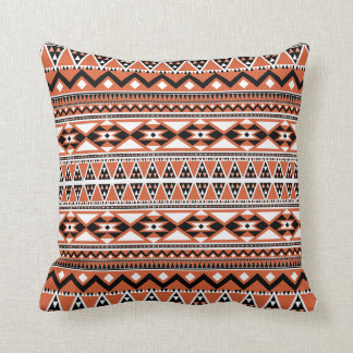 Aztec Pattern BOW (Personalize Monogram) Cushion