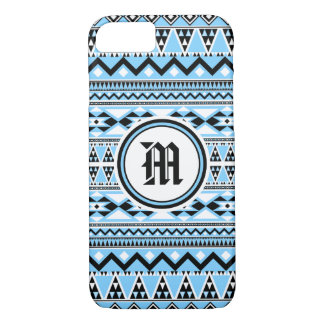 Aztec Pattern BSBW (Personalize Monogram) iPhone 8/7 Case
