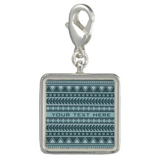 Aztec Pattern custom charms & bracelets