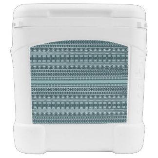 Aztec Pattern custom cooler