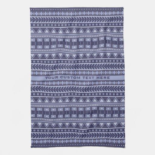 Aztec Pattern Custom Hand Towel