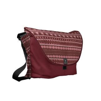 Aztec Pattern custom messenger bags