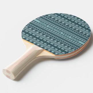 Aztec Pattern custom ping pong paddle