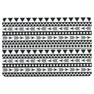 Aztec Pattern floor mat