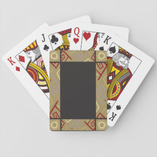 Aztec Pattern Playing Cards