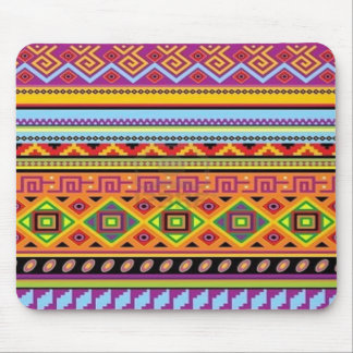 Aztec Pattern Popular Affordable Design Mouse Pad