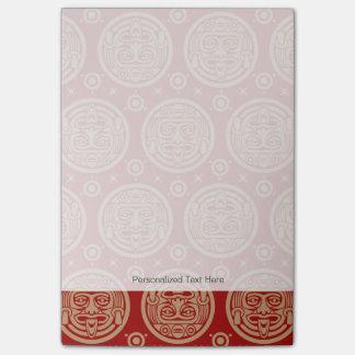 Aztec Pattern Post-it Notes